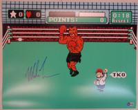 Mike Tyson Autographed 16x20 Photo #1 - Punchout!