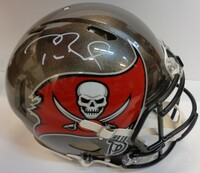 Tom Brady Autographed Tampa Bay Buccaneers SB LV Champs Authentic Speed Full Size Helmet