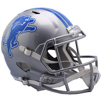 T.J. Hockenson Autographed Detroit Lions Speed Replica Helmet (Pre-Order)