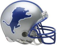 Chris Spielman Autographed Detroit Lions Throwback Mini Helmet (Pre-Order)