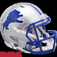 Chris Spielman Autographed Detroit Lions Throwback Authentic Speed Helmet (Pre-Order)