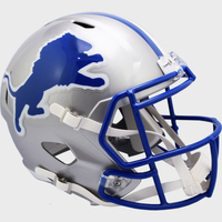 Chris Spielman Autographed Detroit Lions Throwback Replica Speed Helmet (Pre-Order)