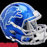 Barry Sanders Autographed Detroit Lions Riddell Flash Replica Football Helmet (Pre-Order)