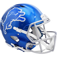 Barry Sanders Autographed Detroit Lions Riddell Flash Authentic Football Helmet (Pre-Order)