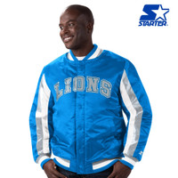 Detroit Lions Men's Stripe Starter Jacket