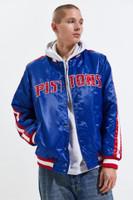 Detroit Pistons Men's Stripe Starter Jacket