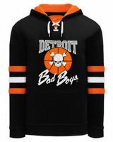 Detroit Bad Boys Men's Lace-Up Hoodie