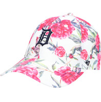 Detroit Tigers Women's 47 Brand Peony Print Clean Up Adjustable Hat