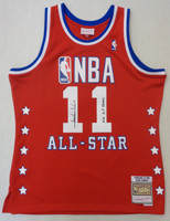 """Isiah Thomas Autographed Mitchell & Ness 1989 All Star Game Swingman Jersey w/ """"12x All Star"""""""