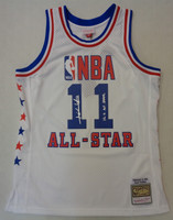 """Isiah Thomas Autographed Mitchell & Ness 1985 All Star Game Swingman Jersey w/ """"12x All Star"""""""