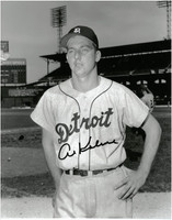 Al Kaline Autographed Detroit Tigers 11x14 Photo #3 - Close Up