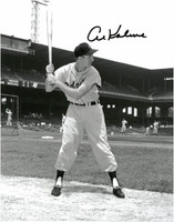 Al Kaline Autographed Detroit Tigers 11x14 Photo #2 - Batting Stance