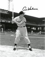 Al Kaline Autographed Detroit Tigers 11x14 Photo #2 - Batting Stance