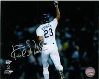 Kirk Gibson Autographed 8x10 Photo #2 - LA Dodgers 1988 World Series HR