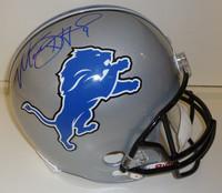 Matthew Stafford Autographed Detroit Lions Deluxe Replica Helmet (2009-16)