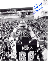 Angelo Mosca Autographed Hamilton Tiger-Cats 8x10 Photo #1 - Grey Cup Champion