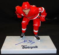 Pavel Datsyuk Autographed Mcfarlane Series 30 Figure