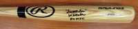 "Lou Whitaker Autographed Big Stick Bat (Tan) inscribed ""Sweet Lou"" & ""84 WSC"""