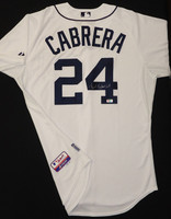 Miguel Cabrera Autographed Detroit Tigers Home Authentic Cool Base Jersey