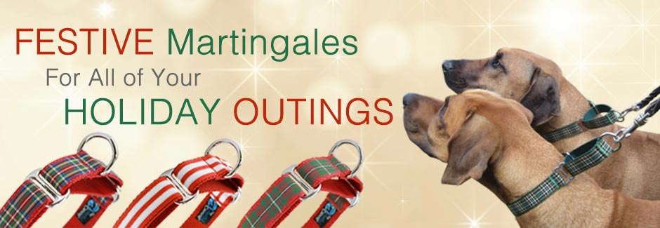 Holiday Martingale Collars