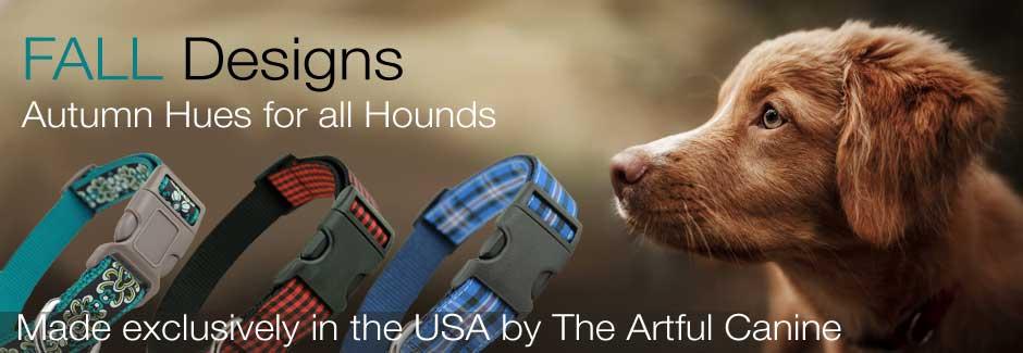 Designer Dog Collars for Fall