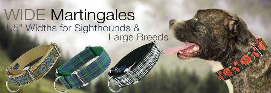 wide martingale collars