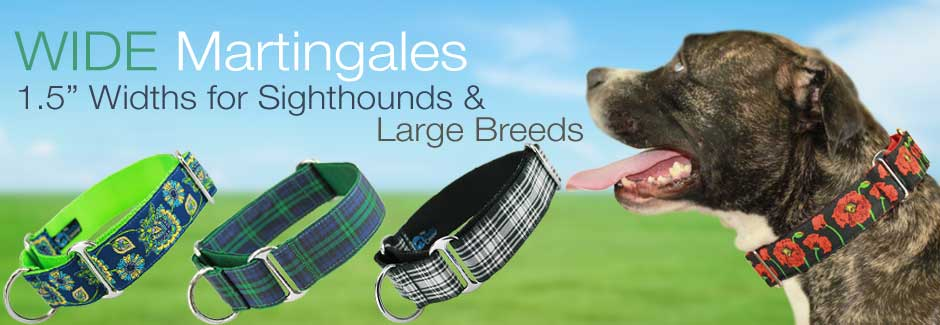 """wide martingale collars, 1.5"""""""