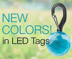 new LED tag colors