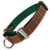 Plaid Martingale Collar, Cameron Tartan, Limited Slip Safety Collar