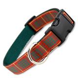 Holiday Plaid Dog Collar, Cameron Tartan