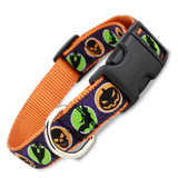 Halloween Dog Collar, Orange