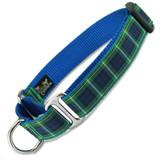 Plaid Martingale dog Collar, Campbell Tartan, Limited Slip Safety Collar