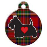 Scottish Dog ID Tag, Scottish Terrier Dog ID Tag