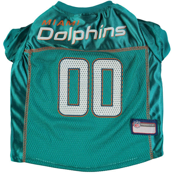 size 40 0471a 3bed5 Miami Dolphins Football Mesh Dog Jersey