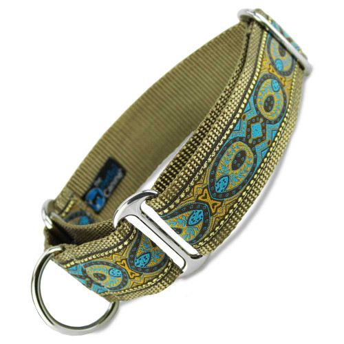 "Brocade Martingale Collar, 1.5"" Wide"