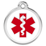 Medical Alert Dog ID Tag