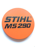 MS 290 Name Plate for Stihl MS 290  - 1127 967 1501