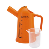 Stihl Measuring Measuring cup 500ml - 0000 881 0182  For preparing fuel mixtures. Available in two sizes: 5 litre capacity and 25 litre capacity.