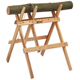 Stihl Wooden Sawhorse - 0000 881 4602  Lightweight design. For cutting firewood with ease, max. load 70 kg.