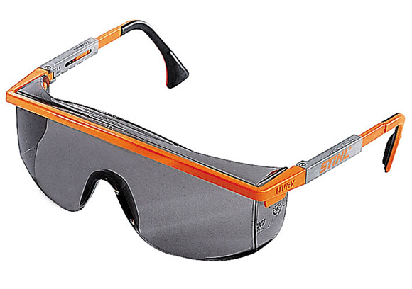Stihl ASTROSPEC safety glasses - Tinted - 0000 884 0305 EN 166, material  with 100