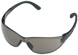 Stihl CONTRAST safety glasses - Tinted - 0000 884 0328  EN 166, material with 100 % UV protection, side protection, padded earpieces, non-misting interior, scratch-resistant exterior.  Ideal in bright sunlight.