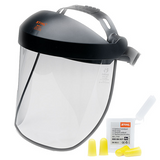 Stihl Polycarbonate visor - double headband - 0000 884 0510