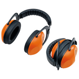 Stihl Concept 24 F Ear Protectors - 0000 884 0530  EN 352, cushioned head strap, soft pads, SNR 24 (H:28; M:21; L:13) (up to 104 dB(A)). Foldable.