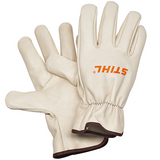 Stihl DYNAMIC Duro Work Gloves (medium) - 0000 884 1193  Full leather. Conforms to EN 388 and EN 420, Cat.II.  NO CUT PROTECTION