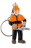 6cm Stihl Forestry worker keyring - 0464 107 0000 - DL Small Plant