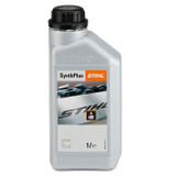 SynthPlus Chain Oil 1L for Stihl Chainsaws Semi-synthetic, high performance lubricant made from top grade base oils. Outstanding protection against wear.