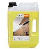 Stihl VP 20 Stone & facade cleaner - 0797 010 2045 Efficient cleaner for hard stone, facade, concrete, wood or tile surfaces. Reliably dissolves tough plant deposits, algae, mould and dust.  Details: AQUA, TRISODIUM DICARBOXYMETHYL ALANINATE, PENTASODIUM TRIPHOSPHATE, SODIUM LAURETH SULFATE, SODIUM CUMENESULFONATE, DIOCTYL SODIUM SULFOSUCCINATE, CITRIC ACID, COLORANT