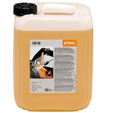 Stihl CB 50 Universal cleaner 10l - 0797 010 2055  Extremely effective cleaner for all hard surfaces, but not textiles. Removes a wide variety of grimy deposits, such as emission dirt, dust, light oil and grease stains. For professional use. pH value 1% solution : 8.2.
