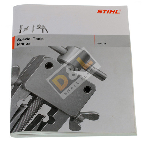 Stihl Special Tools Workshop Manual - 0455 901 0123