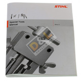 Stihl Special Tools Range Workshop Parts Manual - 0455 901 0123  Great manual with details of products available in the Specialist Tools range with drawings.